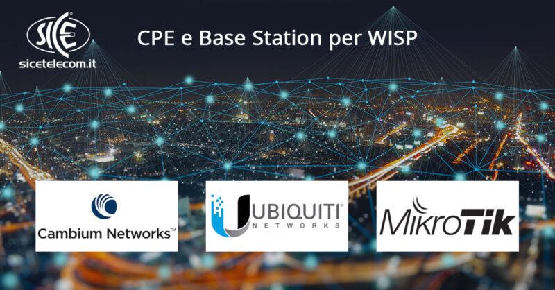 soluzioni WISP Cambium Networks Ubiquiti MikroTik SICE