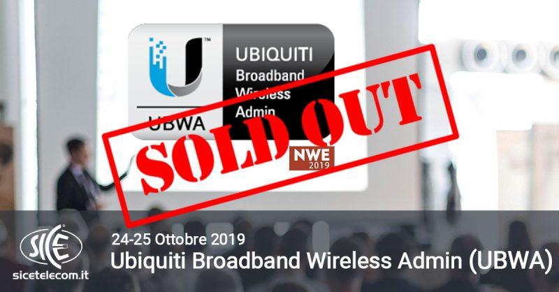 Ubiquiti UBWA NWE sold out