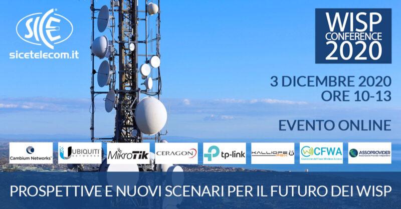wisp conference 2020 SICE Telecomunicazioni
