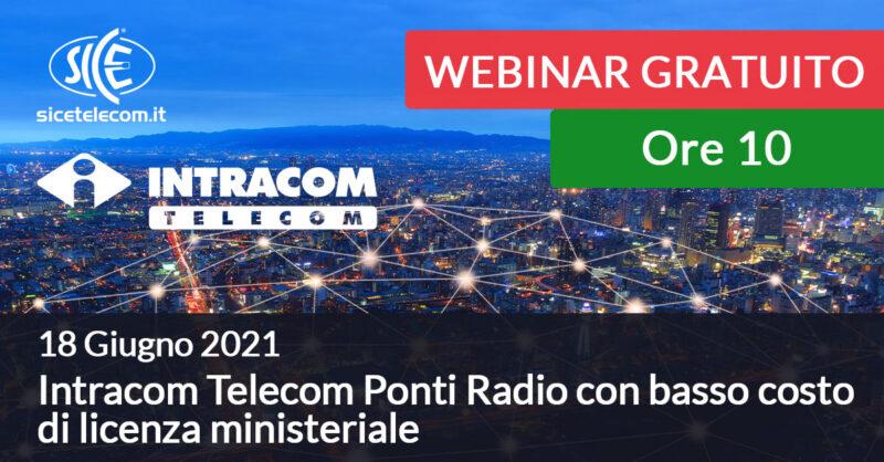 webinar intracom telecom 18 giugno SICE