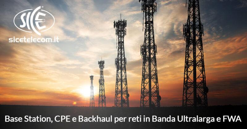 banda ultralarga FWA SICE Telecomunicazioni