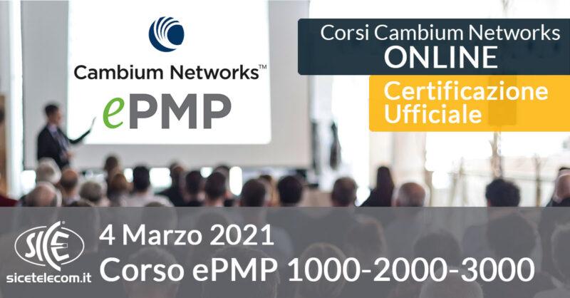 Corso Online Cambium Networks ePMP
