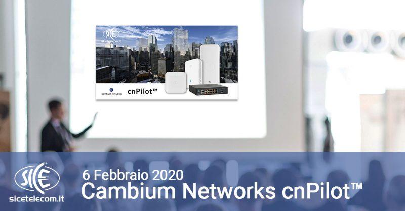 Corso Cambium Networks cnPilot™
