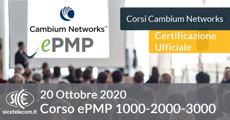 Corso Cambium ePMP 3000 SICE Telecomunicazioni