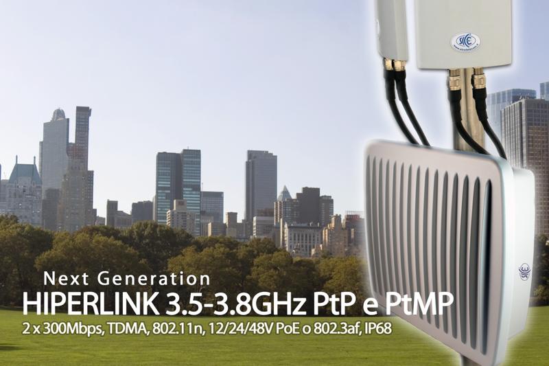 Nuovi Ponti Radio 3.6-3.8 GHz SICE partecipa alla svolta tecnologica sul 5G con l'upgrade della linea HIPERLINK