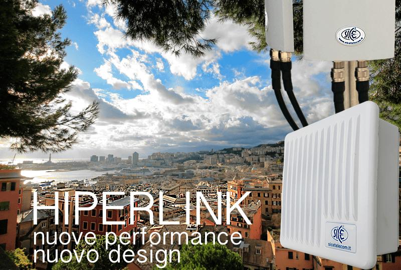 Ponti Radio 5GHz HIPERLINK 2.0: Nuove performance | Nuovo design