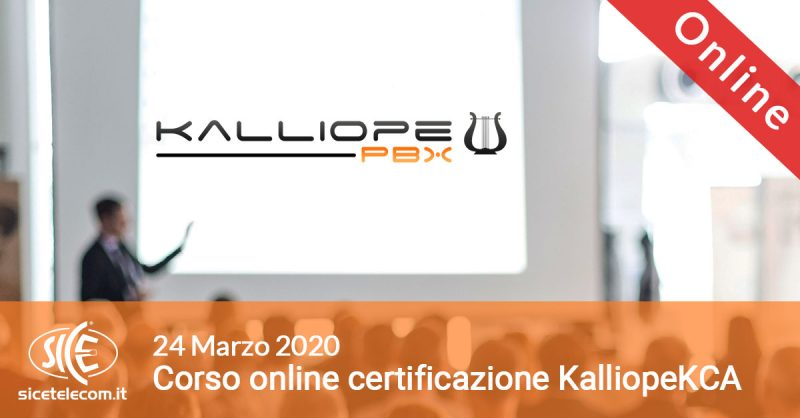 kalliope KCA marzo flag online 2020