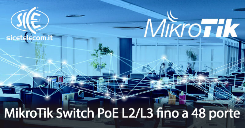 mikrotik switch poe SICE