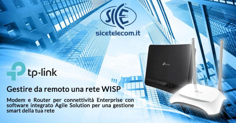 modem router TP-Link per WISP - SICE