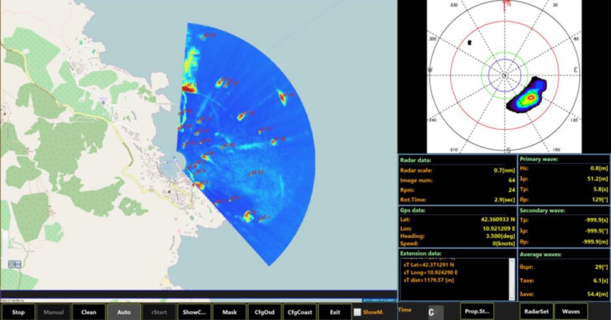 remocean maritime radar