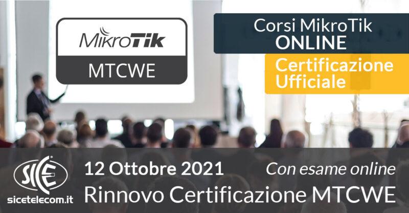 SICE rinnovo-certificazione-MTCWE