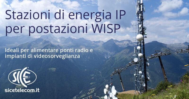 stazioni di energia IP per WISP - SICE