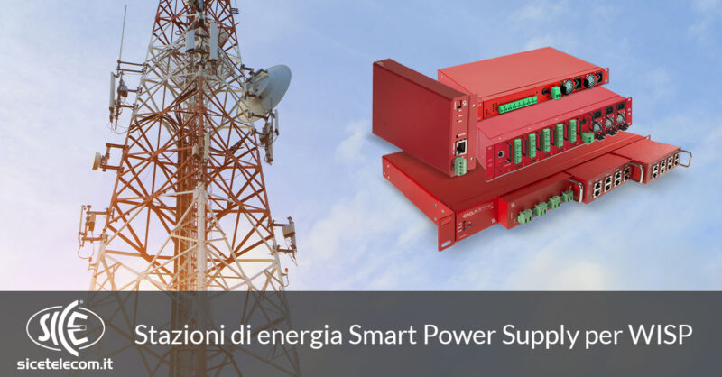 stazioni di energia per WISP SICE Telecomunicazioni