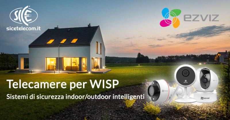 SICE distributore telecamere per WISP di Ezviz