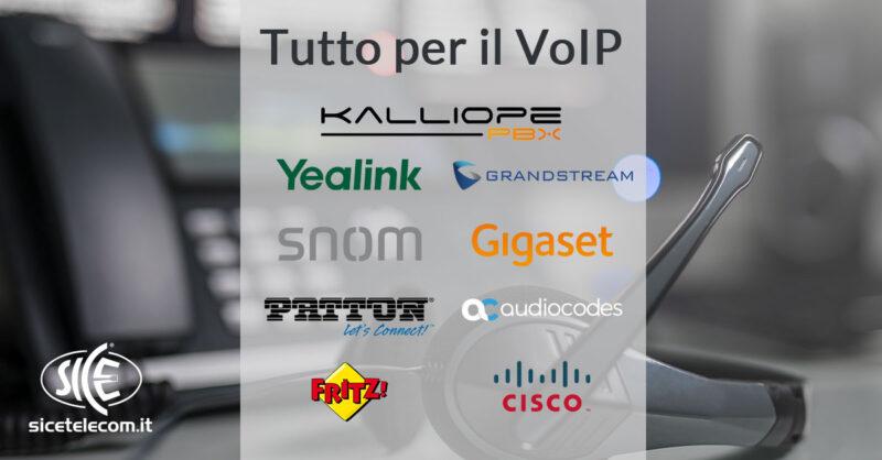 SICE distributore telefoni VoIP