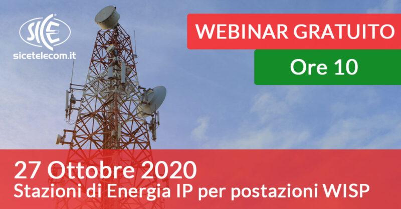 webinar stazioni di energia per WISP SICE