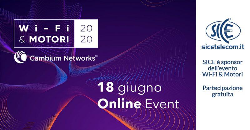 WiFi & Motori Cambium Networks SICE Telecomunicazioni